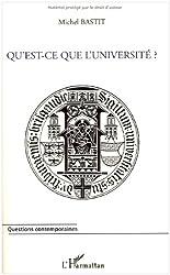 Qu'est ce que l'université?
