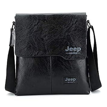 l'ultimo 7828a 46422 Cvxgdsfg Borsa a Tracolla da Uomo Business Jeep Bag Borsa a ...