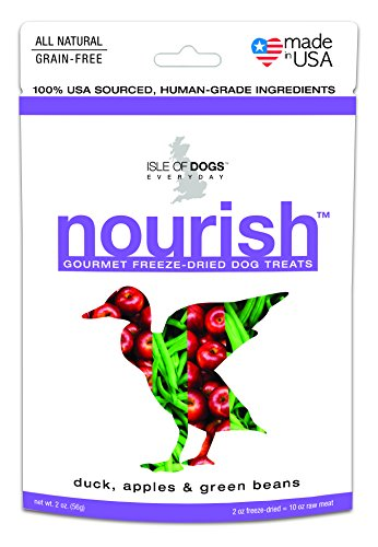Isle of Dogs Nourish Gourmet Duck Apples and Green Beans Dog Treats