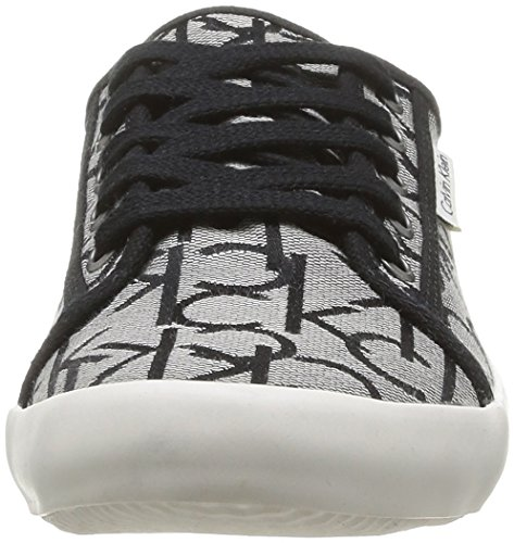 Calvin Klein Jeans Fallon - Zapatillas de Deporte de material sintético hombre gris - Gris (Gri)