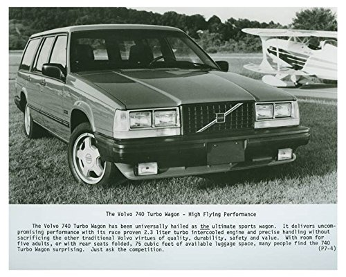 1987 Volvo 740 Turbo Wagon Photo Poster (Turbo Wagon)