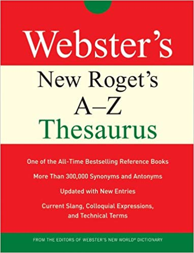 Webster's New Roget's A-Z Thesaurus: Charlton Laird
