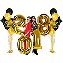 40inch 2018 Year Foil Mylar Balloons for New Years Eve Parties and Graduation Party Decorations