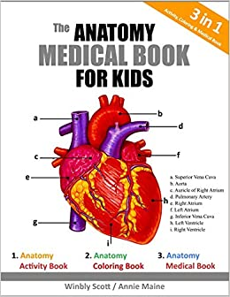 Amazon.com: The Anatomy Medical Book For Kids: A Coloring, Activity ...