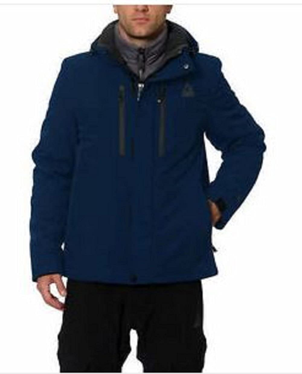 Gerry Mens Superior Midweight Insulated Jacket Solid Blue, Medium
