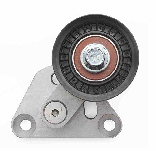 (LSX Innovations BT10 LS1/LS6 Corvette Billet Aluminum Manual Belt Tensioner w/ Pulley)