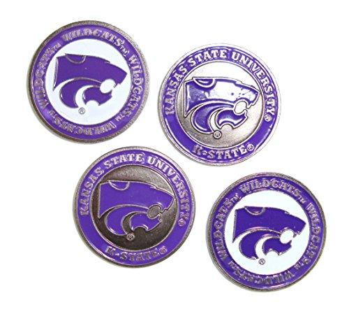 Team Golf (4) Kansas State Wildcats Golf Ball Markers