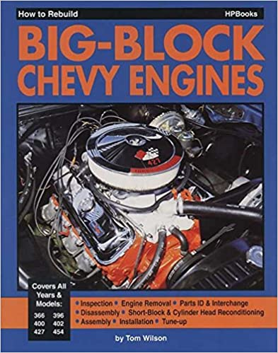 Book How to Rebuild Big-Block Chevy Engine HP755
