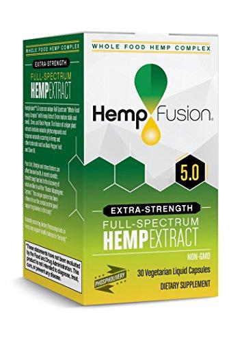 HempFusion Hemp Extract 5.0-30 Vegetarian Capsules