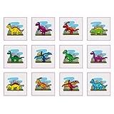 Dinosaur Temporary Tattoos - (Pack of 36)