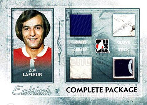 - (CI) Guy Lafleur Hockey Card 2010-11 ITG Enshrined Complete Package Silver 3 Guy Lafleur