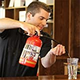 NERLMIAY Creative Fire Extinguisher Wine Water Beer Cannon Mini Drinks Machine