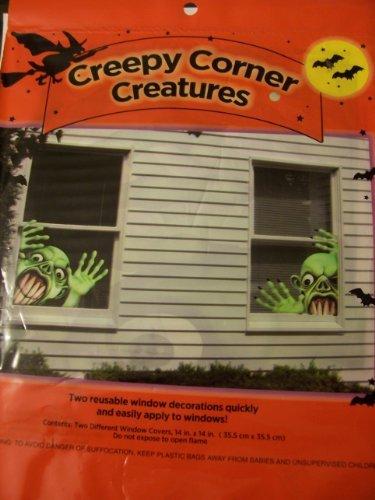 Halloween Window Decorations ~ Creepy Corner Creatures (Goblin) -