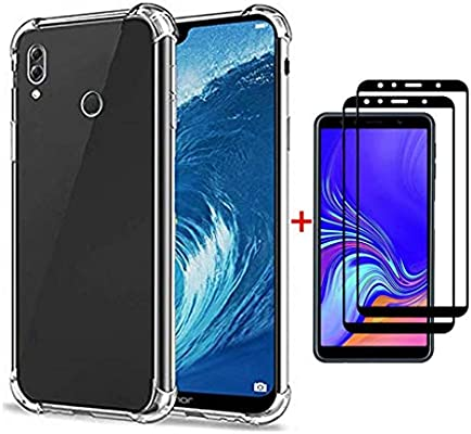 FHXD Compatible con Funda Huawei Honor 8X Transparente TPU ...