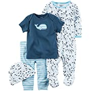 Carter's Baby Boys' Multi-Pc Sets 126g585, Blue, 3 Months