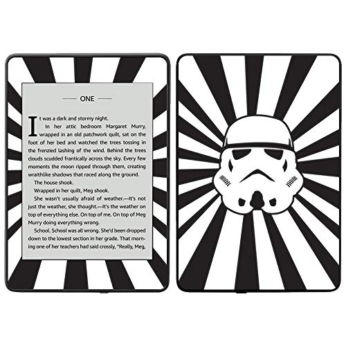 (MightySkins Skin Compatible with Amazon Kindle Paperwhite 2018 (Waterproof Model) - Star Rays | Protective, Durable, and Unique Vinyl Decal wrap Cover | Easy to Apply, Remove| Made in The USA)