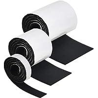 FOROREH 3 stks Vilt Strip Roll,1 Meter Meubels Vilt Pads DIY ZelfStick Heavy Duty DIY Vilt Floor Protector Pads voor…