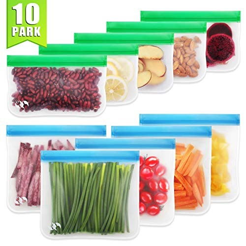 Reusable Storage Bags - 10 Pack...