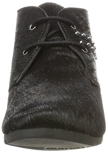 fashion Style Maruti Women's Ginger Hairon Studs Leather Chukka Boots Schwarz (Pony Black) the cheapest 100% guaranteed for sale buy cheap reliable new for sale VvIhG9e