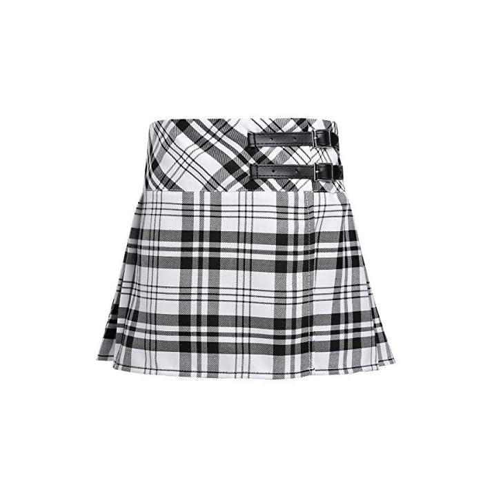 511rYNz9r4L La falda está hecha de poliéster y material de algodón, lavado a mano. Tabla de tallas significa rangos de edad para niñas, pero solo son orientativos. Poliéster algodón