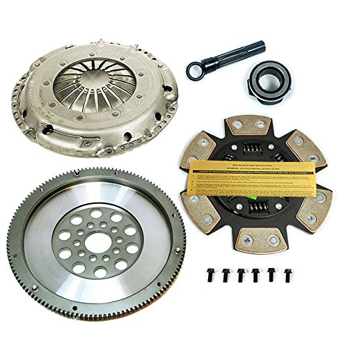 SACHS-EFT STAGE 3 DISC CLUTCH KIT& CHROMOLY FLYWHEEL VW GOLF GTI JETTA PASSAT VR6