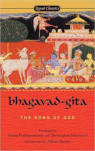Bhagavad Gita The Song Of God Classics Huxley Aldous Prabhavananda Swami Isherwood Christopher Amazon De Bucher