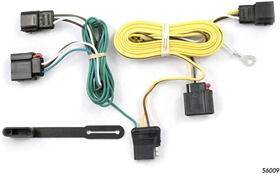 CURT 56009 Vehicle-Side Custom 4-Pin Trailer Wiring Harness for Select on trailer bumpers, trailer horn, trailer fenders, trailer generators, trailer jacks, trailer power cords, trailer axles, trailer adapters, trailer suspension, trailer mirrors,