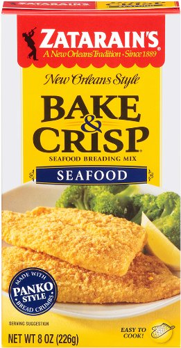 Zatarains Breading Seafood Bake And Crisp, 8 oz by Zatarain's (Image #1)