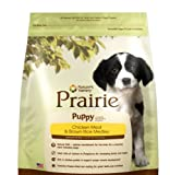 Prairie Puppy Chicken Meal and Brown Rice Medley by Nature's Variety, 30-Pound Bag, My Pet Supplies