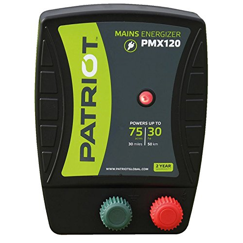 Patriot PMX120 Electric Fence Energizer, 1.2 Joule
