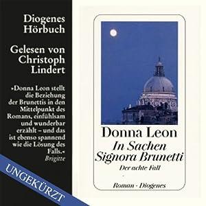 In Sachen Signora Brunetti Hörbuch