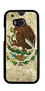 Mexican FLAG Hard Case for HTC ONE M8 ( Sugar Skull )
