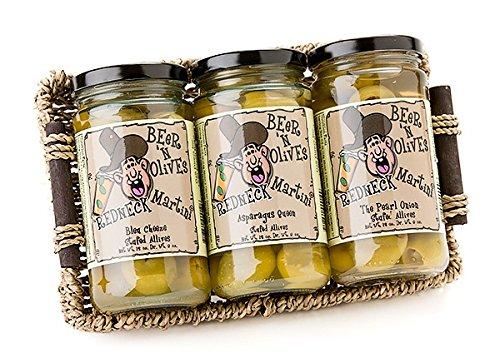 Martini Olives Gift Pack MILD (3 Jars)