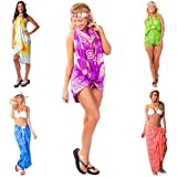1 World Sarongs Womens Pot Luck Grab Bag of Sarong 1 Sarong picked - Brighter