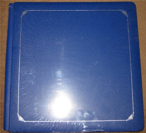 Creative Memories 12x12 Sapphire Blue Scrapbook Album