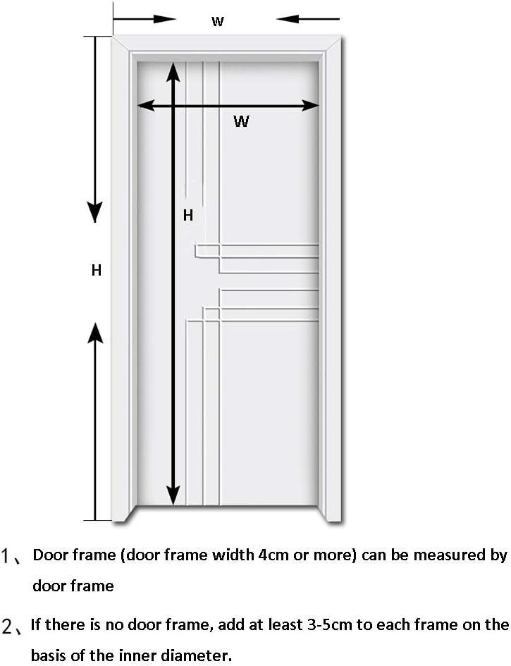 Size : 70x200cm Porta zanzariera ZXMEI Magnetica Telaio Zanzariera Full Frame Velcro Adatto per Porte Finestre per Animali Domestici Dentro E Fuori Viola