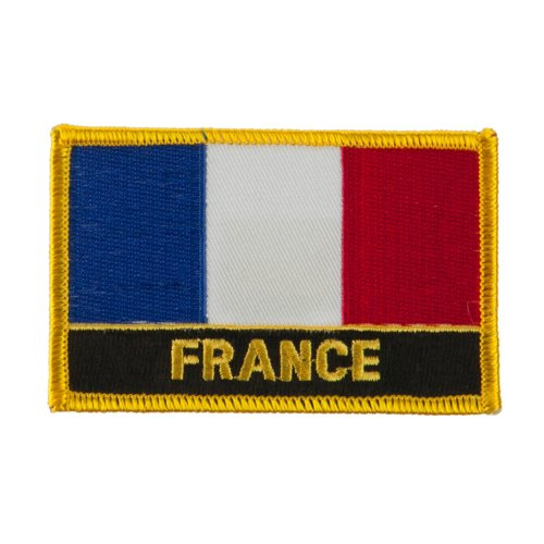 New Europe Flag Embroidered Patch - France OSFM