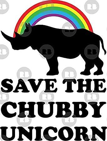 3/'/' Funny Rhino Cartoon Car Bumper Sticker Decal 5/'/' or 6/'/'