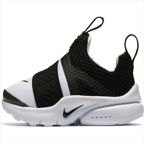 Nike Boy's Presto Extreme Toddler Shoe, White/Black, 6C by NIKE