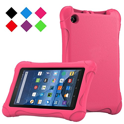 Fire 7 2015 Case,Tinkle ONE Kids Case Shockproof Light Weight Drop Protection Children EVA Case Cover for Amazon Fire 7 Tablet (7 inch Display 5th Generation,2015 Release Only) (Pink ) (Kids Kindle Warranty compare prices)