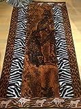 Luxury Oversized Beach Towels, safari, 100% Egyptian Cotton