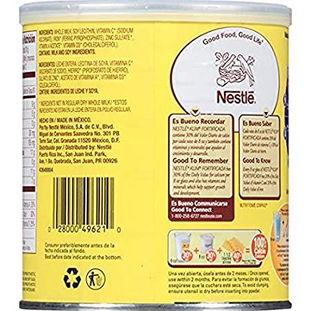 Amazon.com : Nestle Klim Instant Dry Whole Milk Powder Fortificada, 12.7 Ounce (Pack of 3) : Grocery & Gourmet Food