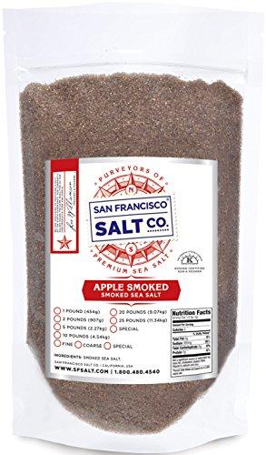 Applewood Smoked Sea Salt (2lb Bag - Fine Grain)