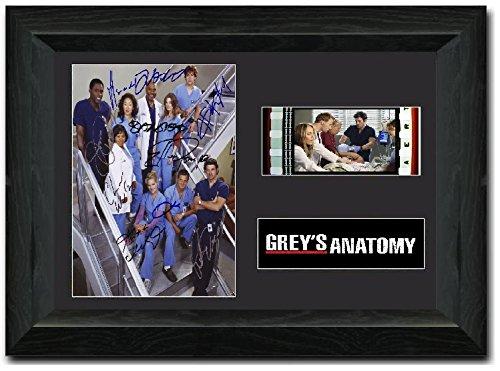 reelfilmcells Greys Anatomy Stunning FRAMED 35 mm Film Cell Display Comic con