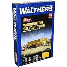 Walthers Cornerstone Series Kit HO Scale Washington Salvage Yard