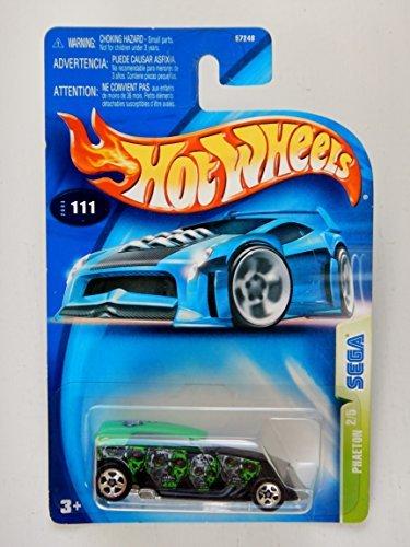 Hot Wheels 2003 Phaeton Sega 2/5 #111 Black 1:64 Scale