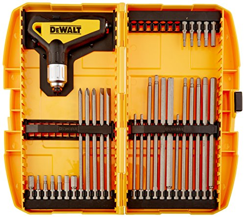 [Dewalt DWHT70265 Ratcheting T-Handle Set, 31 Piece] (Hex T-key Set)