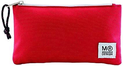 Miquelrius estuche plano rojo candy tag (17087): Amazon.es ...