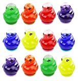 AJ Toys & Games AJ000HB101-Duck 12 Pcs Duck Goo Slime, Fun Pass Time Activity for Kids, Great Product for Party Favors, Goodie Bags and Any Event for K