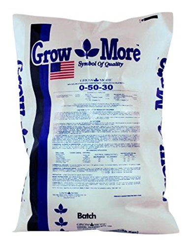 Grow More 721712 Flower Hardener, (0-50-30) 5 lb by Grow More
